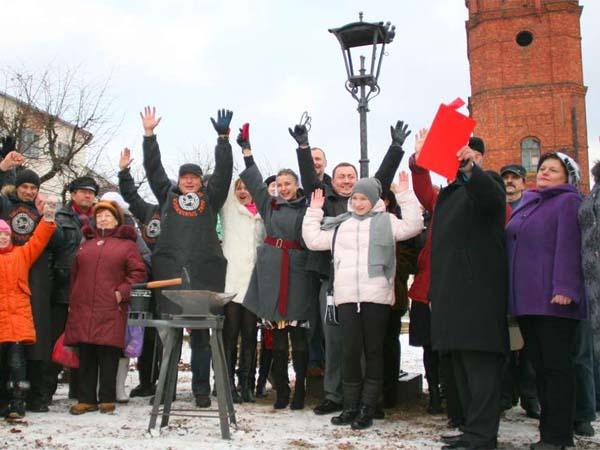 Памятник уличному фонарю в Печоре