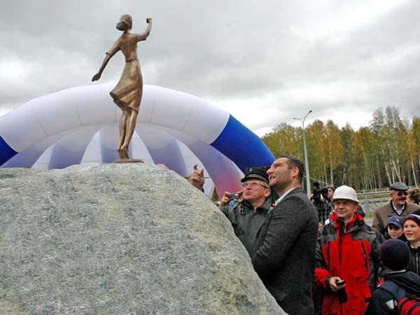 Памятник Вера, Надежда, Любовь в Екатеринбурге
