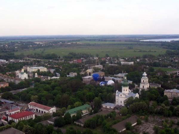 Небольшой городок Переяслав-Хмельницкий
