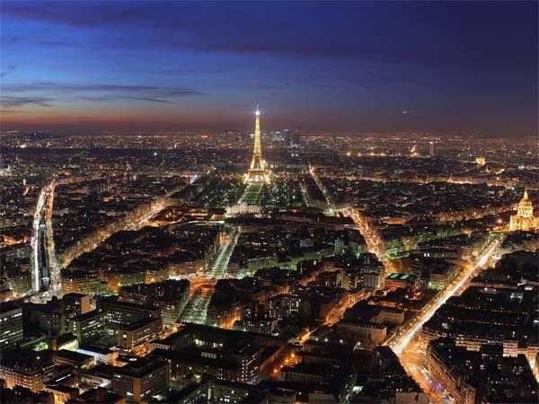 Париж - симбиоз новшеств и архаизмов