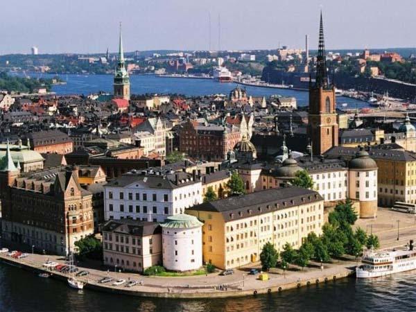 Стокгольм - город суровых викингов и Карлсона