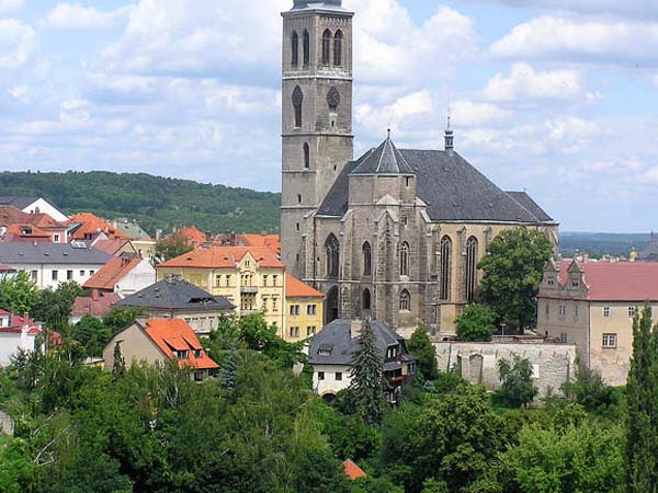 Чешский город Кутна Гора