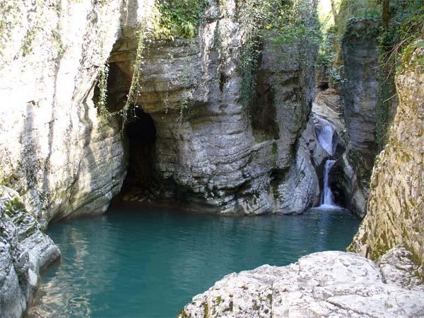 Сокровища Сочи - Агурские водопады