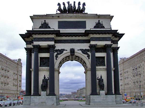 Памятники архитектуры 1812 года