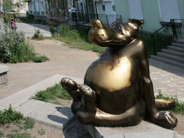 Памятник счастью в Ангарске
