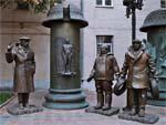 Памятник героям «Мимино» в Москве