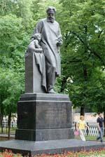 Памятник Н.Ф.Филатову в Москве