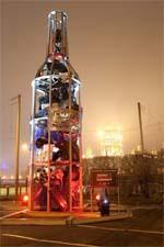 Памятник несовместимости алкоголя и автомобиля