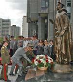 Памятник солдату правопорядка в Москве