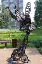 Памятник водолей