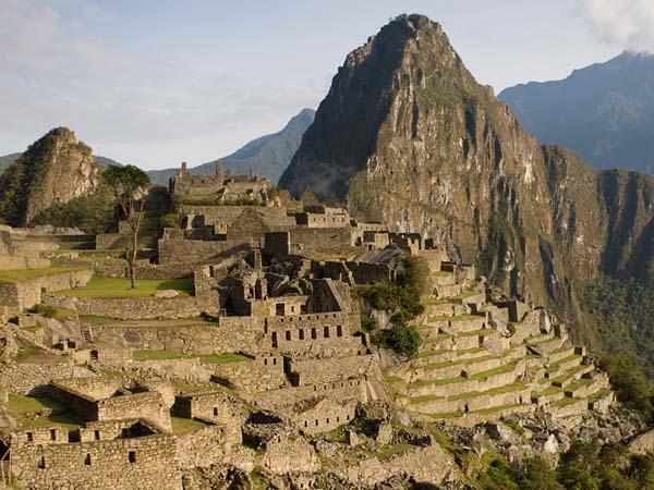 Памятники архитектуры. Руины города Мачу-Пикчу