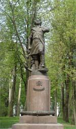 Памятник Петру 1 в Измайлово