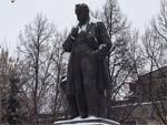 Памятник ученому Д.Н. Прянишникову