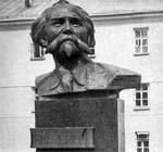 Памятник ученому К.И. Скрябину
