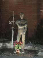 Памятник Высоцкому на Таганке