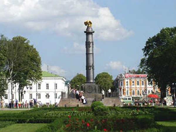 Колонна славы – Полтавская битва