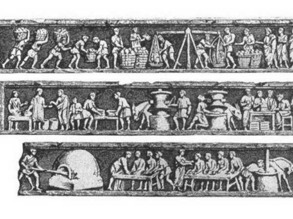 Первый памятник пекарю