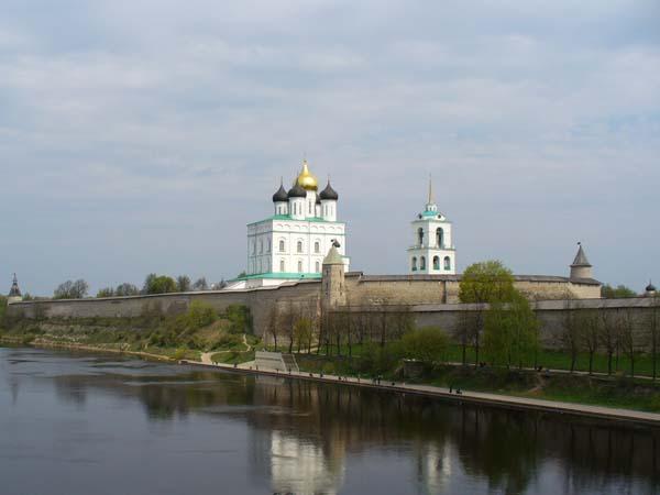 Свято-Троицкий кафедральный собор. Достопримечательности Пскова