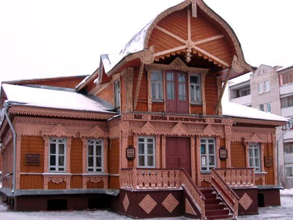 Достопримечательности Калуги. Дом мастеров