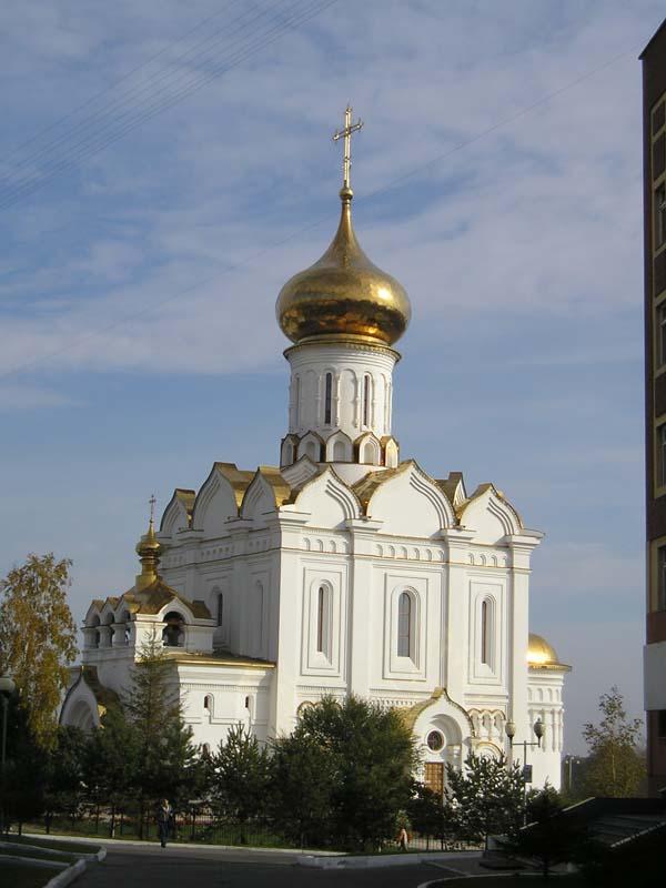 Храм Святой преподобномученицы великой княгини Елизаветы
