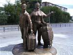Памятник челнокам