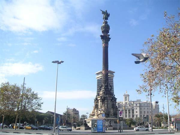 Памятник Колумбу - гордость Барселоны