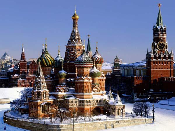 Достопримечательности России (Московский кремль)