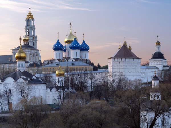 Монастыри России (Троице-Сергиева лавра)