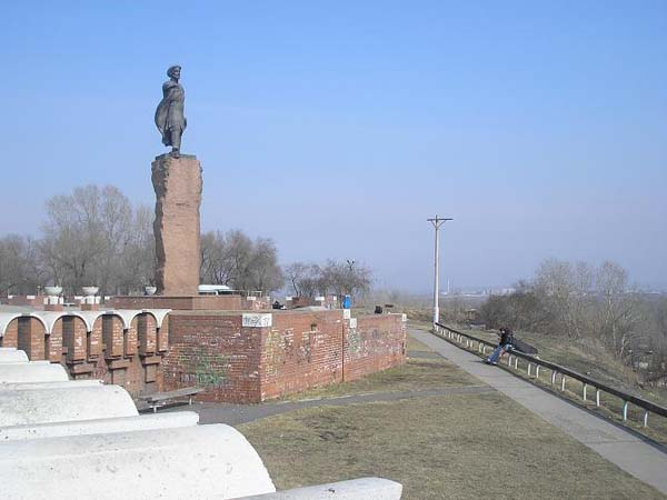 Памятник воеводе Андрею Дубенскому в Красноярске