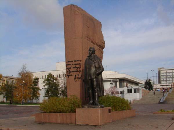 Памятники писателям в Красноярске
