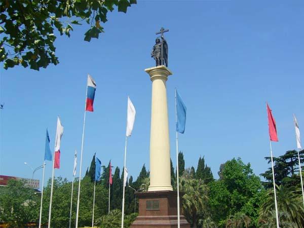 Памятники-символы в Сочи