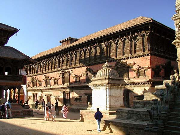 Дворец 55 окон.Бхактапур