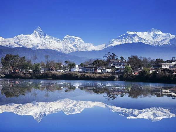 Покхара. Озеро Пхева