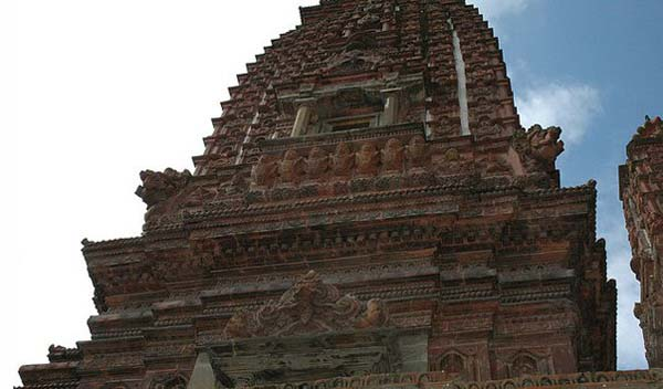 Терракотовый храм Тысячи Буд