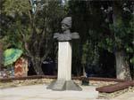 Памятник атаману А.Д. Безкровному в Анапе