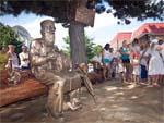 Памятник доктору Айболиту в Анапе