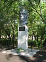 Памятник герою Горячеву В.П.