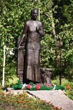 Памятник матери — Омск