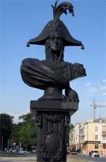 Памятник Лазареву в Новороссийске