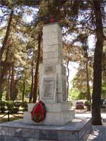 Памятники партизанам в Новороссийске