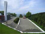 Мемориал по погибшим бойцам в Анапе