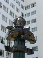 Памятник Пушкину в Анапе
