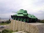 Памятник танкистам в Новороссийске