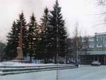 Памятник воинам-заводчанам