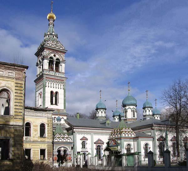 Церковь Николая Чудотворца на Рогожском кладбище