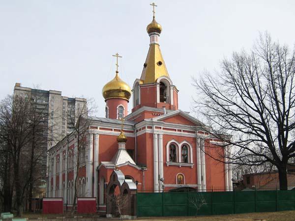 Церковь Воскресения Словущего на Семеновском кладбище