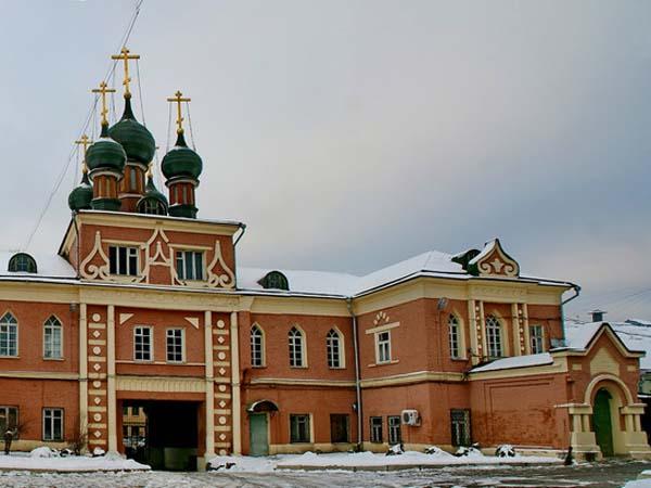 Церковь Воздвижения Честного Креста Господня в Никольском единоверческом монастыре