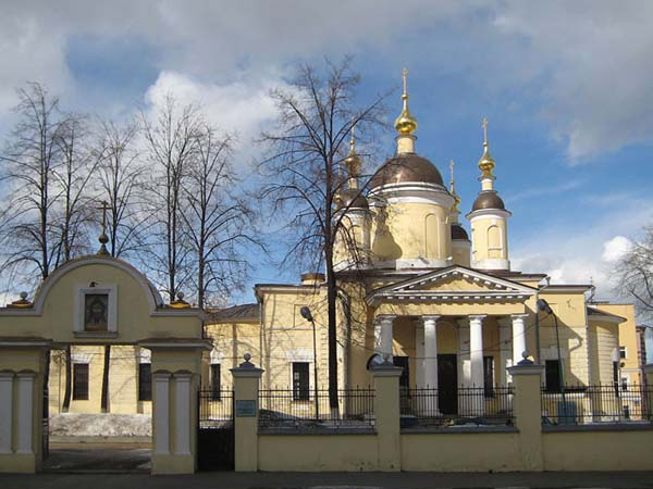 Церковь Введения Пресвятой Богородицы во Храм у Салтыкова моста