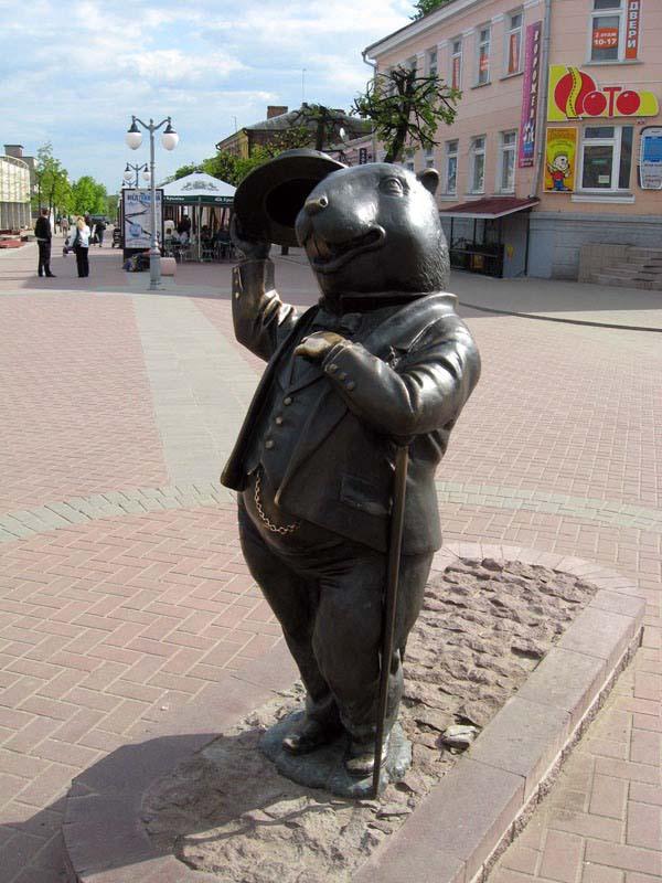 Памятник Бобер