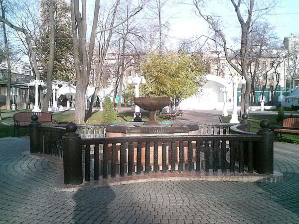 Сад Эрмитаж